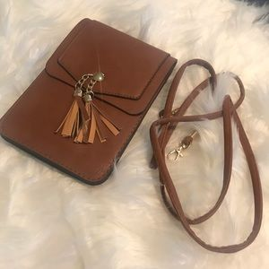 Small crossbody cell phone bag